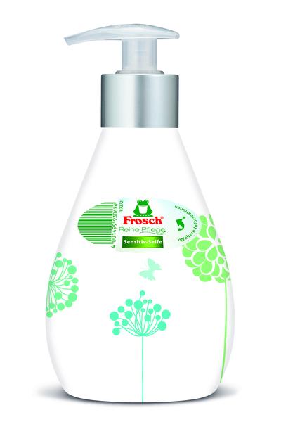 Жидкое мыло Frosch, для чувствительной кожи, 300 мл