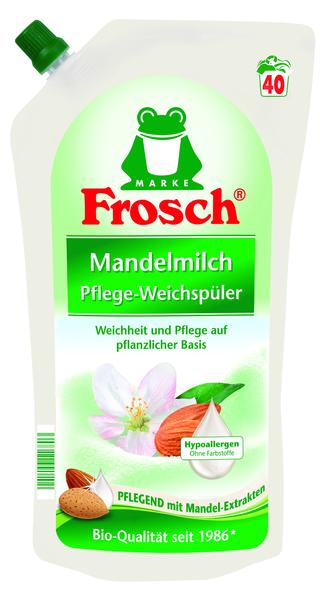 Ополаскиватель для белья Frosch Миндальное молочко, 1 л