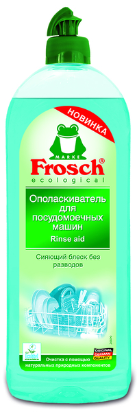 Ополаскиватель для посудомоечных машин Frosch, 750 мл