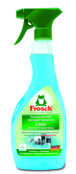 Универсальное чистящее средство Frosch Сода, 500 мл