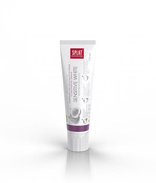 Зубная паста Splat Professional Sensitive White, 100 мл