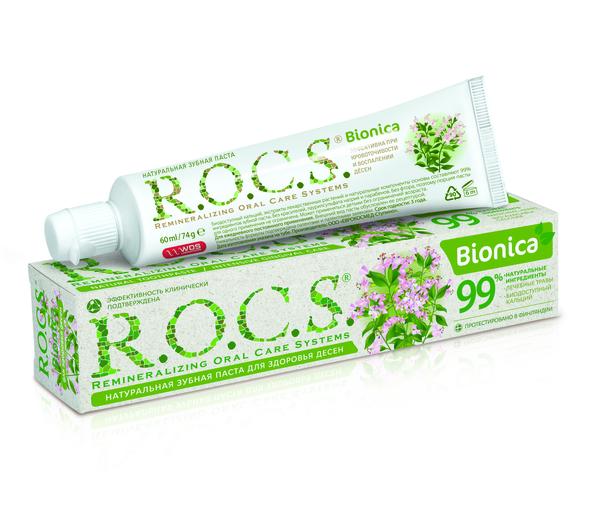 Зубная паста R.O.C.S. Bionica, 74 г