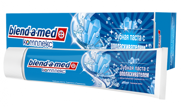 Зубная паста Blend-a-med Комплекс 7 Экстра Свежесть, 100 мл