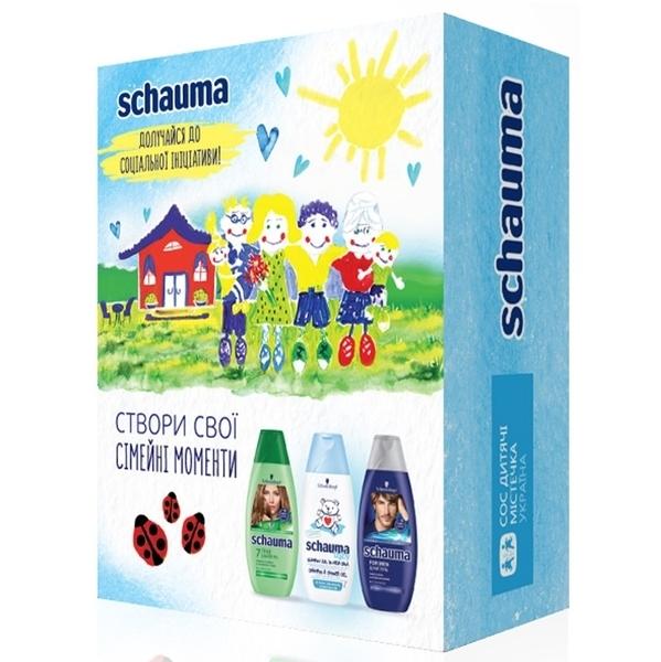Подарочный набор шампуней Schauma Семейные ценности