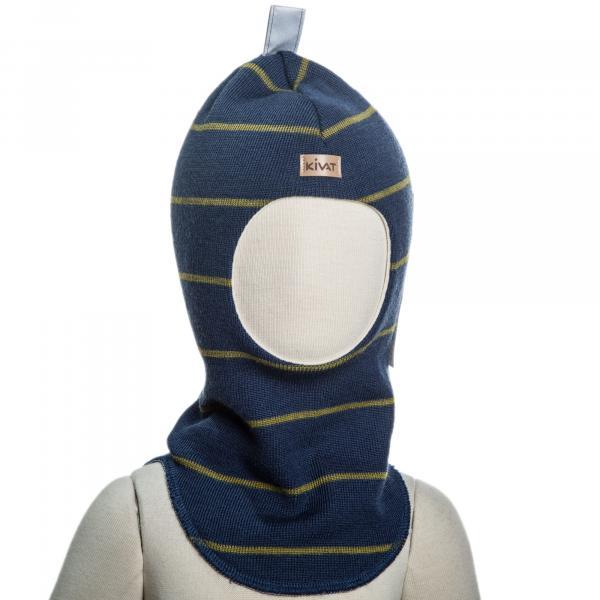 4c24081b0de1d8 Шапка-шлем Kivat Полоска, р.4, синий (496-68/134-4) | Купить в ...