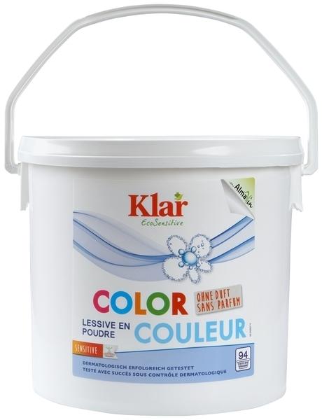 Органический стиральный порошок Klar для цветных тканей, 4,75 кг