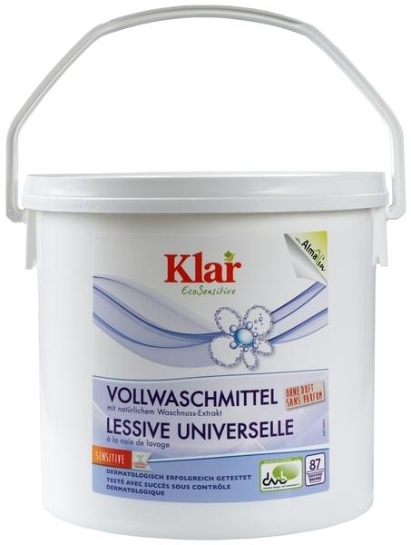 Универсальный органический стиральный порошок Klar, для белых и цветных тканей, 4,4 кг