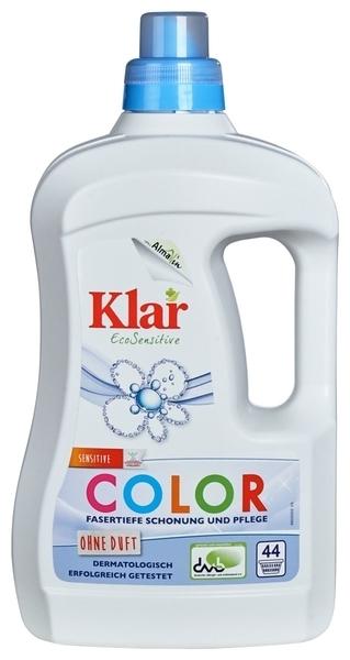 Жидкое средство для стирки Klar, для цветных тканей, 2 л