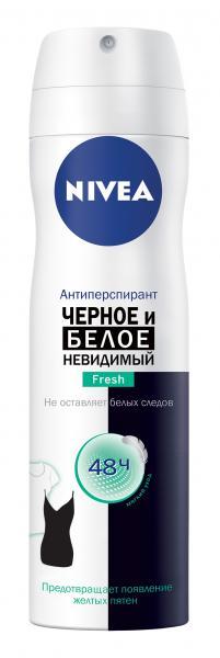 Дезодорант-антиперспирант Nivea Invisible Fresh Невидимая защита, спрей, 150 мл
