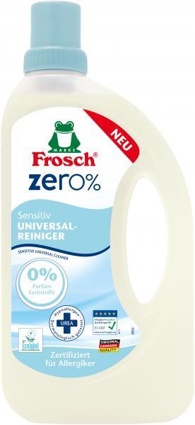 Универсальный очиститель Frosch Zero Сенситив, 750 мл