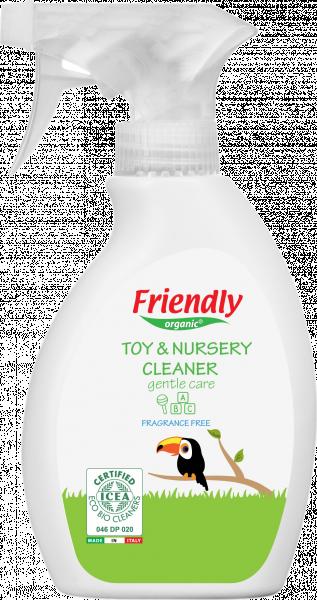 Очищающее органическое средство Friendly Organic для детской комнаты и игрушек, 250 мл