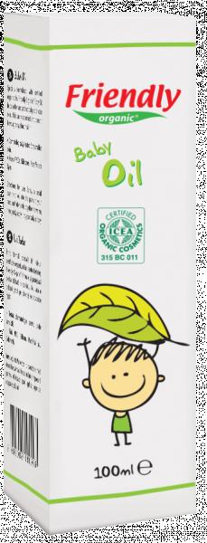Детское массажное масло Friendly Organic, 100 мл
