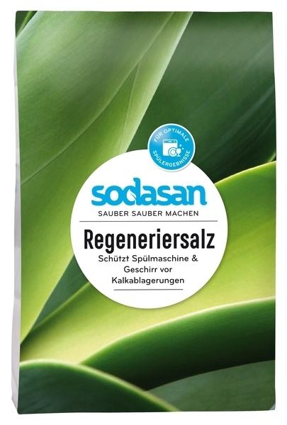 Соль для посудомоечных машин Sodasan, 2 кг