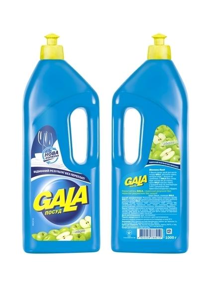 Средство для мытья посуды Gala Яблоко, 1 л
