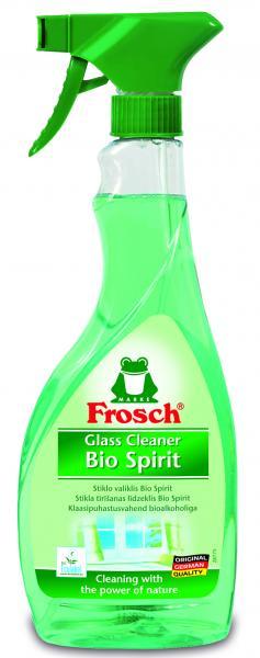 Очиститель для стеклянных и зеркальных поверхностей Frosch, спиртовой, 500 мл