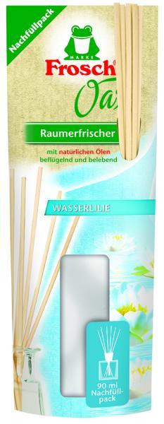 Освежитель воздуха Frosch Оазис Водная лилия, сменная упаковка, 90 мл