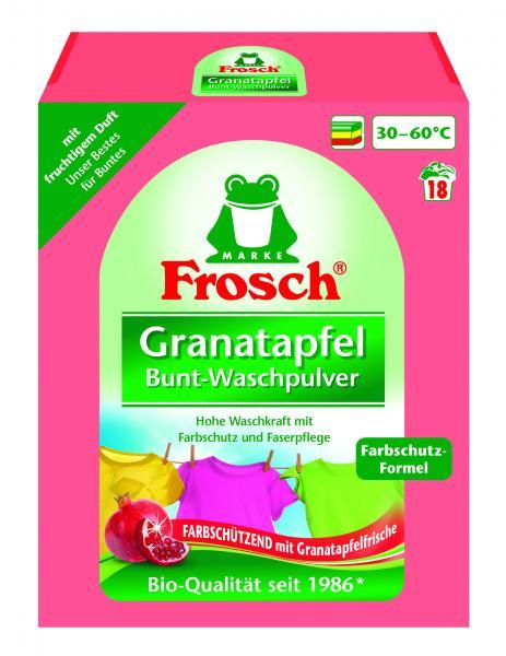 Стиральный порошок-концентрат Frosch Колор Гранат, 1,35 кг