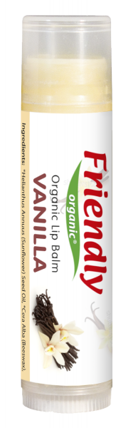 Бальзам для губ Friendly Organic Vanila