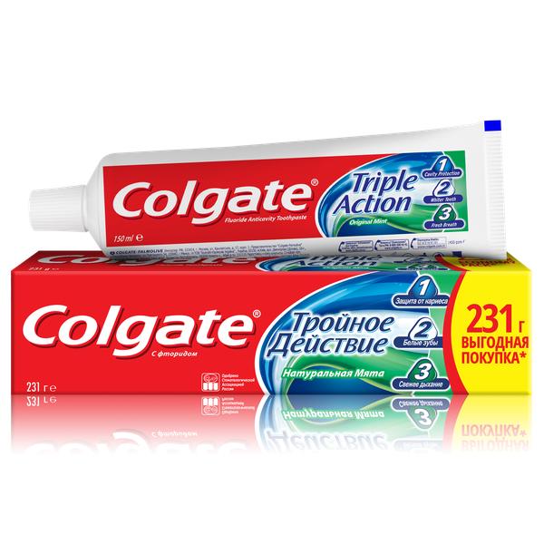 Зубная паста Colgate Тройное действие, 150 мл