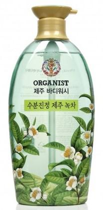 Гель для душа LG Household & Health Organist Jeju, с зеленым чаем, 750 мл