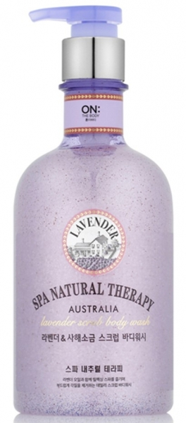 Скраб для тела LG Household & Health Veilment Natural Spa Lavender Dead Sea, 400 мл