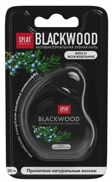 Зубная нить Splat DentalFloss Blackwood, 30 м