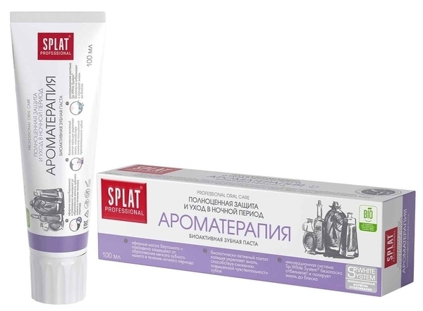 Зубная паста Professional Splat Aromatherapy/Ароматерапия, 100 мл