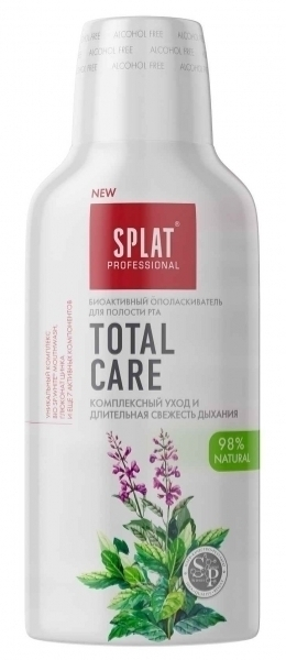 Ополаскиватель Splat Professional Total Care, 275 мл