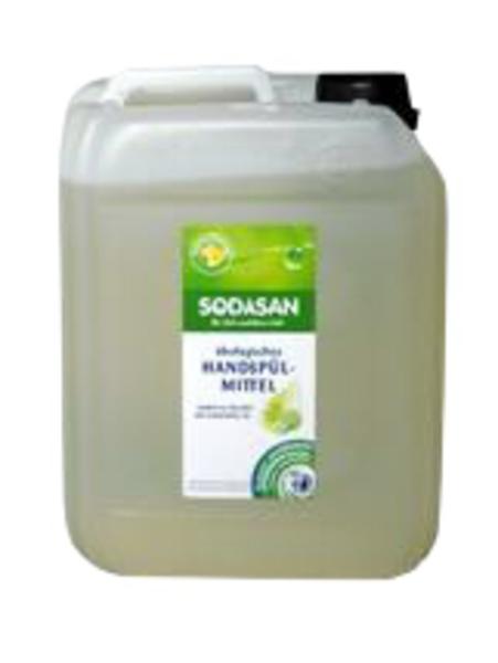 Органическое жидкое средство-концентрат Sodasan Лимон, для мытья посуды, 5 л