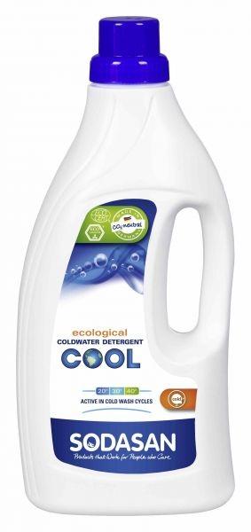 Органическое жидкое средство для стирки в холодной воде Sodasan Cool, 1,5 л