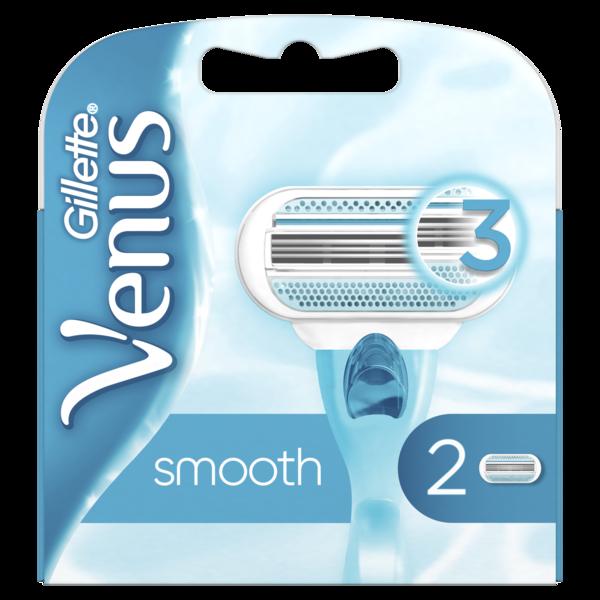 Cменные картриджи для бритья Venus, 2 шт.