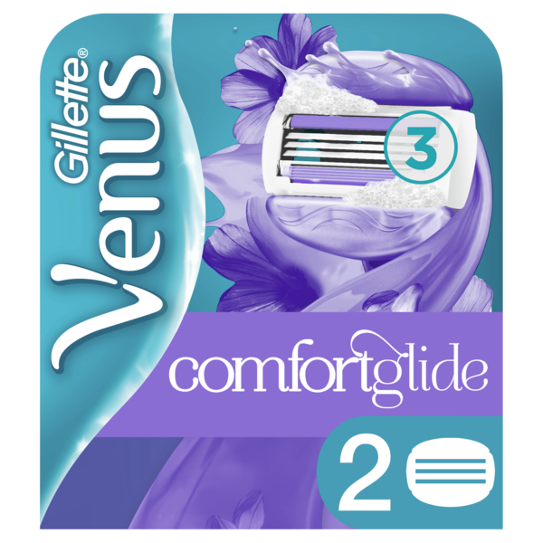 Сменные картриджи для бритья Venus Breeze, 2 шт.