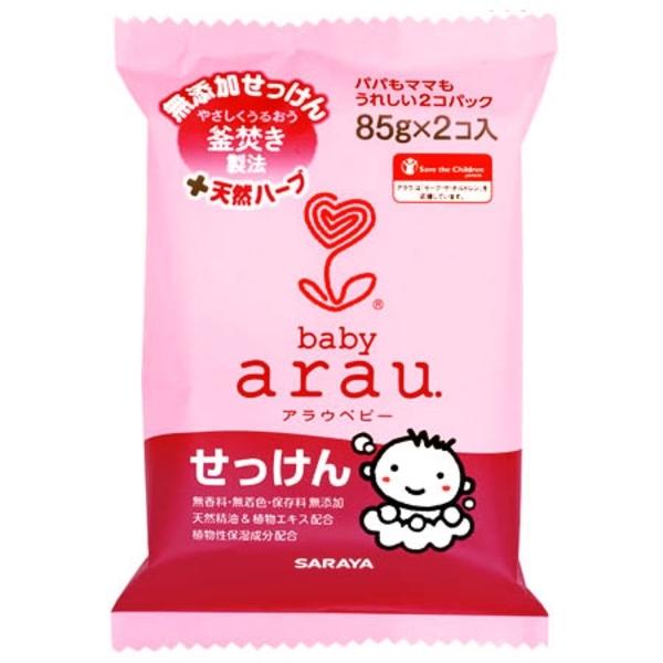 Детское мыло Arau Baby Bar Soap, 2 шт. по 85 г