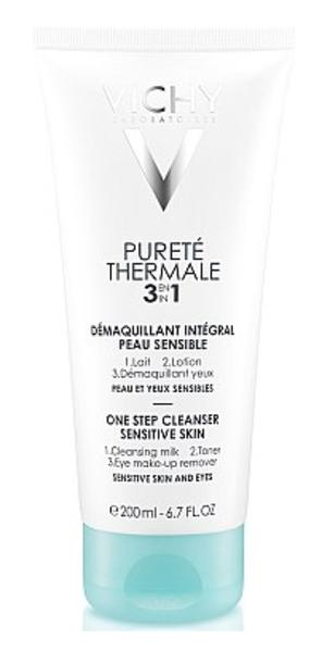 Средство для снятия макияжа Vichy Purete Thermale 3 в 1, 200 мл