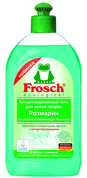 Гель-концентрат для посуды Frosch Розмарин, 500 мл