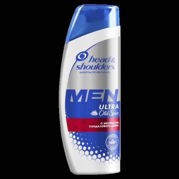Шампунь-бальзам для мужчин Head&Shoulders 2 в 1 с ароматом Old Spice, 400 мл