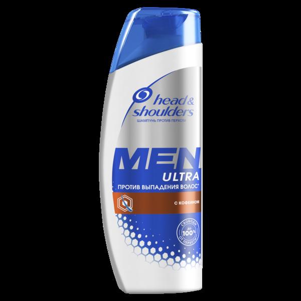Шампунь против перхоти Head&Shoulders Men Ultra Против выпадения волос, для мужчин, 400 мл
