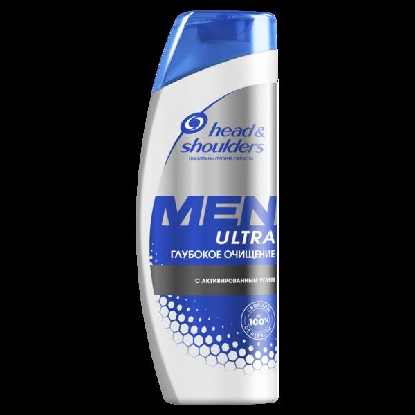 Шампунь против перхоти Head&Shoulders Men Ultra Глубокое Очищение, 360 мл
