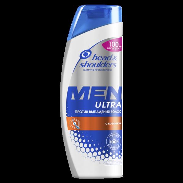 Шампунь против перхоти Head&Shoulders Men Ultra Против выпадения волос, для мужчин, 600 мл