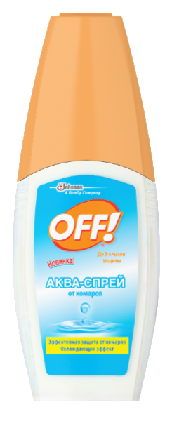 Аква-спрей OFF! от комаров, 100 мл