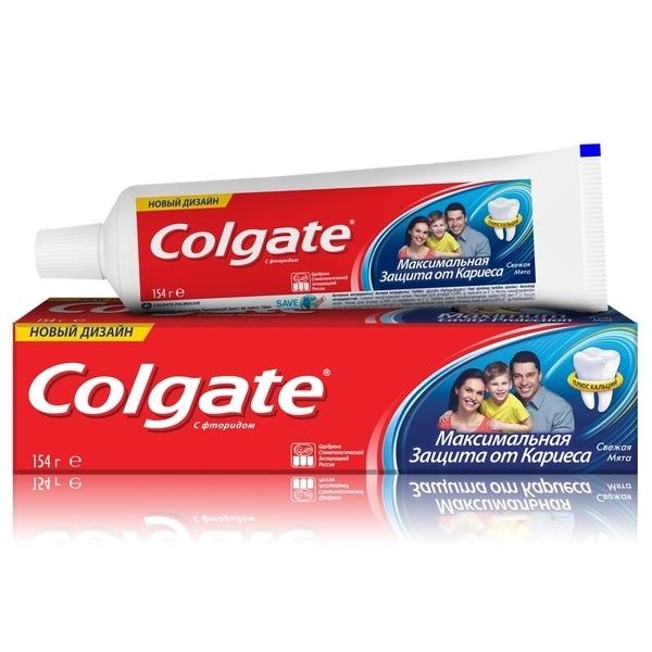 Зубная паста Colgate Максимальная защита от кариеса, 100 мл