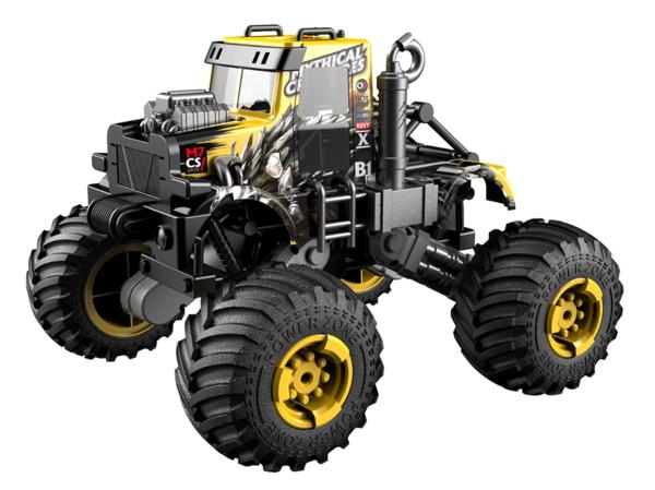 Автомобиль на радиоуправлении Crazon Мифическое существо 1:16, желтый (333-DJ19165)