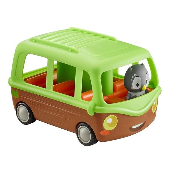 Игровой набор Klorofil Автобус, с персонажем (700203F)