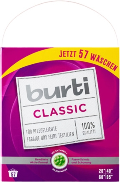Стиральный порошок универсальный Burti, 4,312 кг