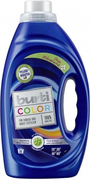 Средство для стирки цветного белья Burti Color Liquid, 1,45 л