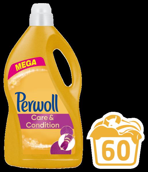 Гель для ежедневной стирки Perwoll Care & Repair, 3,6 л
