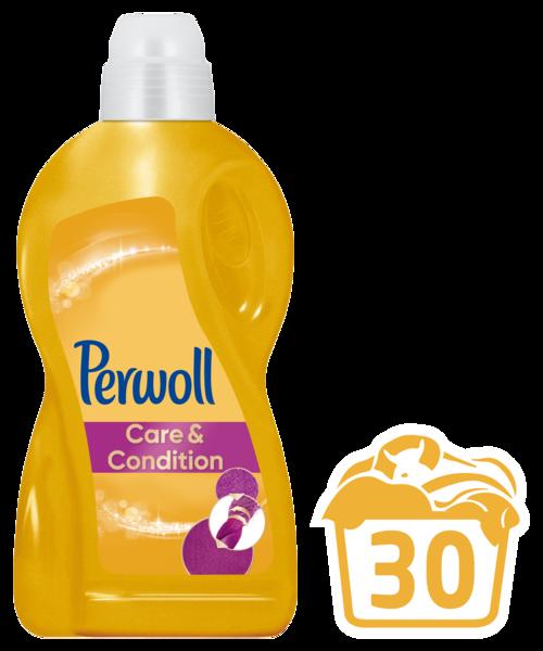 Гель для ежедневной стирки Perwoll Care & Repair, 1,8 л