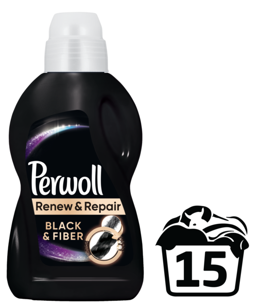 Гель для стирки Perwoll для черных вещей, 0,9 л