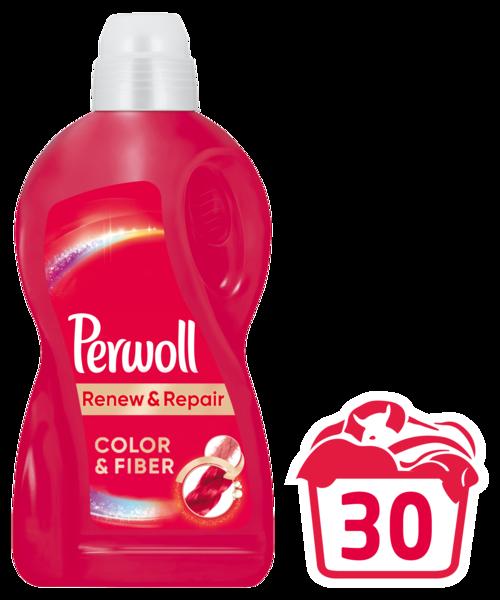 Гель для стирки Perwoll для цветных вещей, 1,8 л
