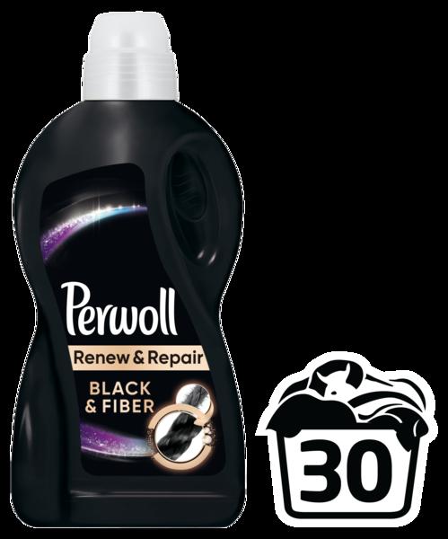 Гель для стирки Perwoll для черных вещей, 1,8 л